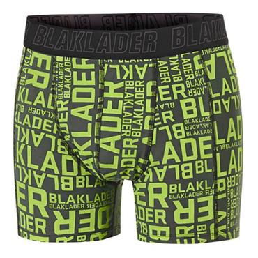 Blaklader 1897 2 Piece Boxer Shorts - Army Green