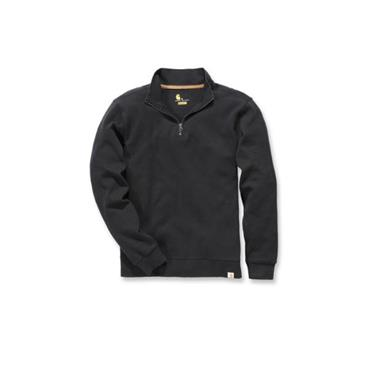 Carhartt 100007 Quarter-Zip Knit Sweater - Black