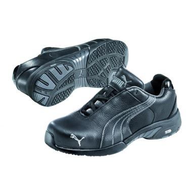 Puma Velocity Wns Low S3 Black/Grey Ladies Safety Trainers