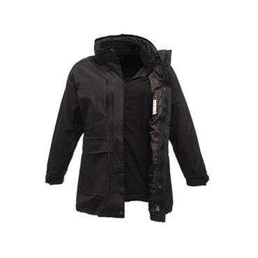 Regatta TRA148 Benson II Breathable 3-In-1 Ladies Jacket - Black