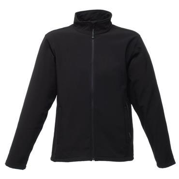 Regatta TRA654 Reid Softshell Fleece Jacket - Black