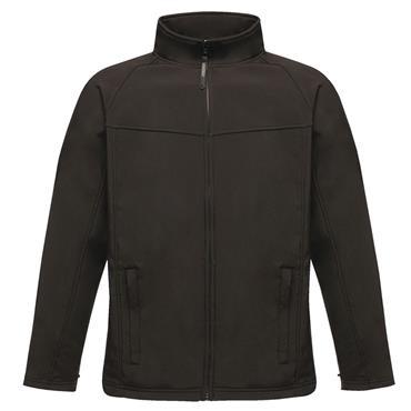 Regatta TRA642 Uproar Interactive Softshell Fleece Jacket - Black