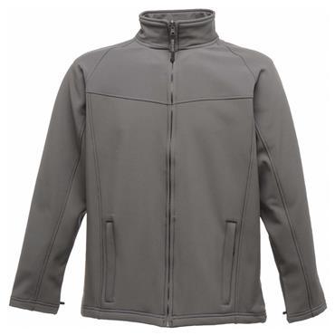 Regatta TRA642 Uproar Interactive Softshell Fleece Jacket - Seal Grey