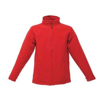 Regatta TRA642 Uproar Interactive Softshell Fleece Jacket - Classic Red/Seal Grey
