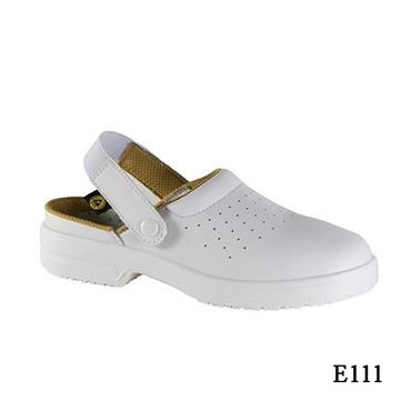 CITEC ESD White Safety Clogs