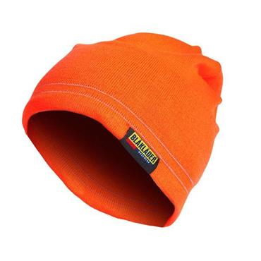 Blaklader 2007 High-Visibility Reflective Beanie - Orange