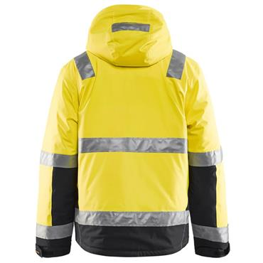 Blaklader 4870 High-Visibility Winter Jacket - Yellow/Black