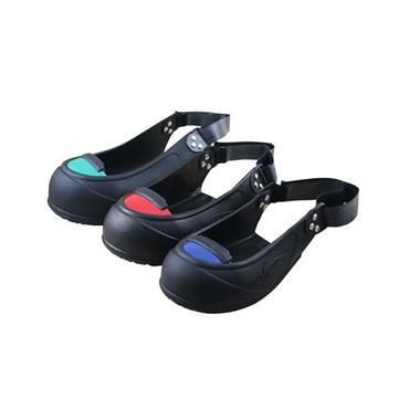 Tiger Grip Black Visitor Safety Overshoes