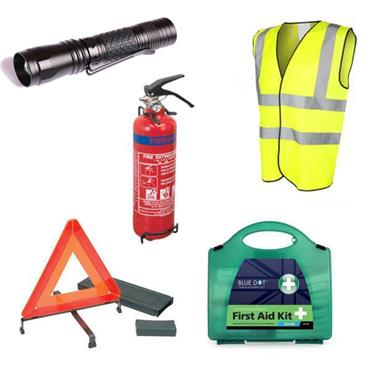 CITEC DCSK Deluxe Car and Van Safety Kit