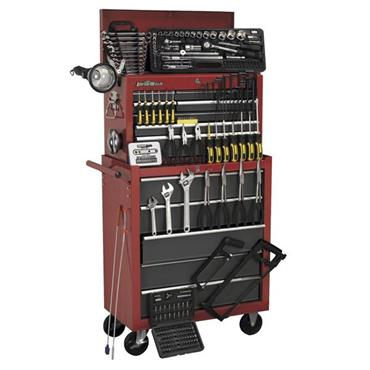 Sealey AP2250BBCOMBO 230 Piece Topchest and Rollcab Combination 14 Drawer Tool Kit