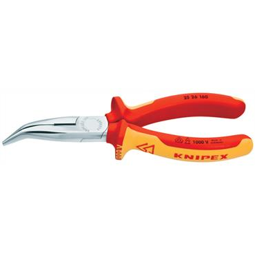 Knipex 25 26 160 160mm Snipe Nose Side Cutting Pliers