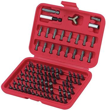 Citec 395021 100 Piece Screwdriver Bit Set