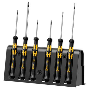Wera 1578 A/6 ESD 6 Piece Mixed Screwdriver Set