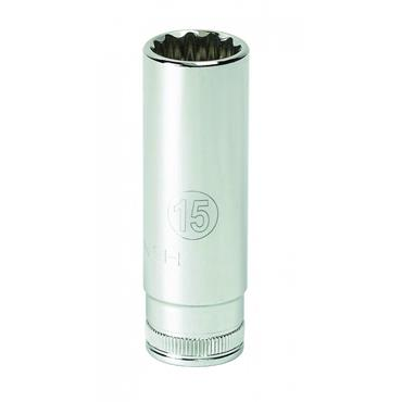 "Gearwrench Metric 6 Point Deep 1/4"" Drive Socket"
