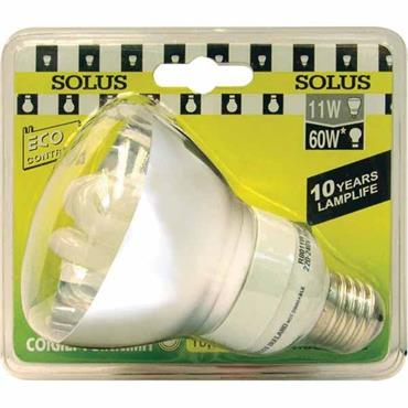 SOLUS CFL Energy Saving Light Bulbs Reflector Style