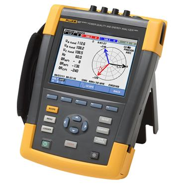 Fluke 437 Series II Power Quality and Energy Analyzer