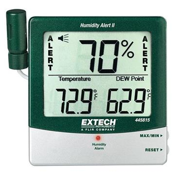 Extech 445815 Dew Point Humidity Alert Hygro-Thermometer