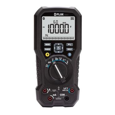 FLIR DM93 High Accuracy Multimeter with VFD Probe