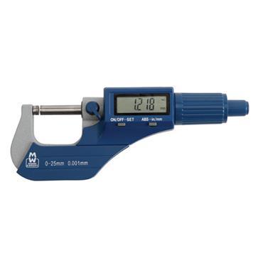 MOORE & WRIGHT Value Line Digital Micrometer 200 Series