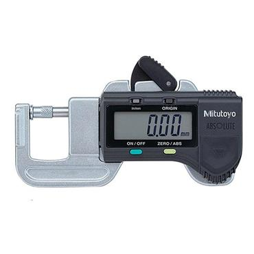 "Mitutoyo 700-118-20 0-0.5"" Quick Mini Digimatic Thickness Gauge"