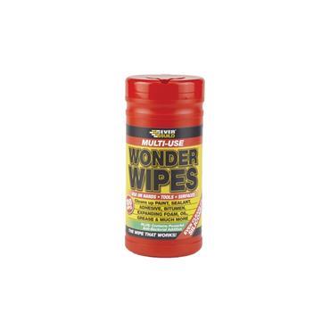 EVERBUILD WIPE80 Wonder Wipes Tub x 100