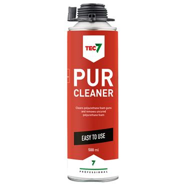 TEC7 PUR7 CLEANER 500ml Expanding Foam Cleaner