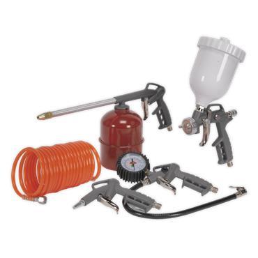 Sealey SA33G 5 Piece Air Accessory Kit