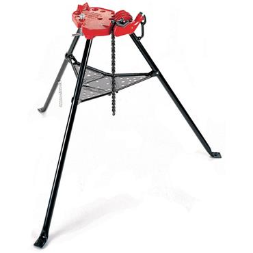 RIDGID 460 Portable Tristand with Chain Vise