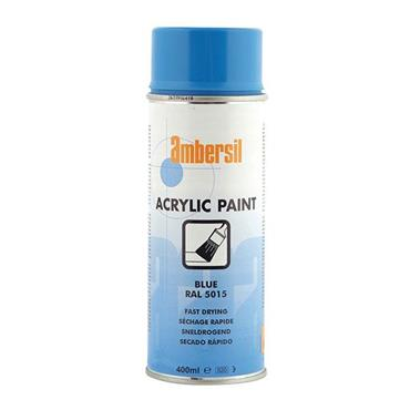 AMBERSIL Acrylic Paint Blue  400ml RAL5015