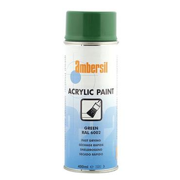 AMBERSIL Acrylic Paint Green 400ml RAL6002