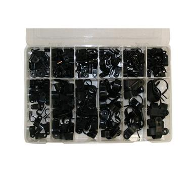 AUTO MARINE Nylon P-Clip Assortment