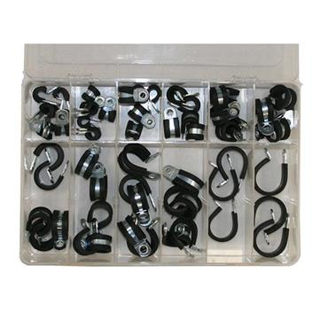 AUTO MARINE Aluminium P-Clip Assortment
