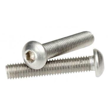 APEX Stainless Steel M5 Socket Head Button Screws
