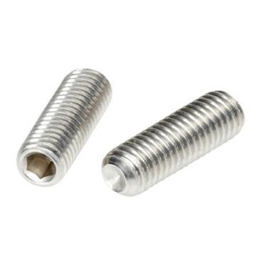APEX Stainless Steel M6 Socket Set Grub Screws- Metric
