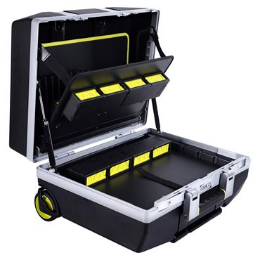 Raaco 485 x 250 x 410mm Superior Professional Trolley Tool Case - XLT-23/6F