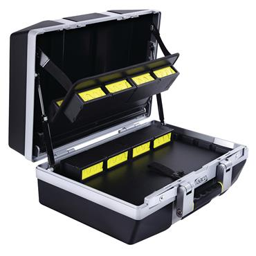 Raaco 475 x 200 x 360mm Black Superior Professional Tool Case - L-6F
