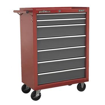 Sealey AP22507BB 7-Drawer Red/Grey Rollcab Cabinet