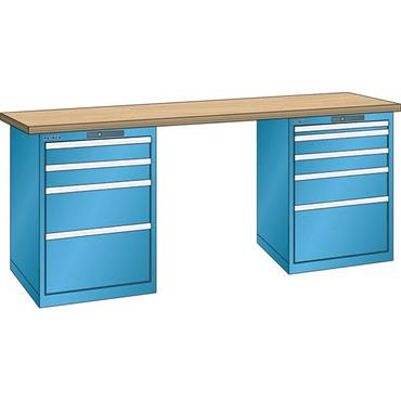 LISTA Heavy Duty Workbenches with Drawer Unit
