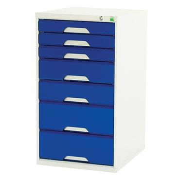 Bott 16911213.11V	7-Drawer Blue Verso Cabinet