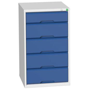 Bott 16925017.11 5-Drawer Blue Verso Cabinet