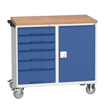 Bott 6-Drawer Verso Maintenance Trolley/Cupboard