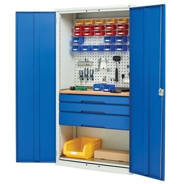 Bott 3-Drawer Verso Kit Workshop Cupboard
