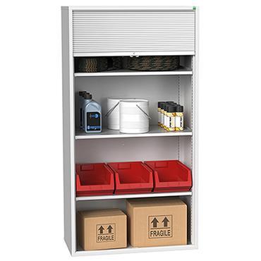 Bott Verso Roller Shutter Cupboard with Extra Shelf