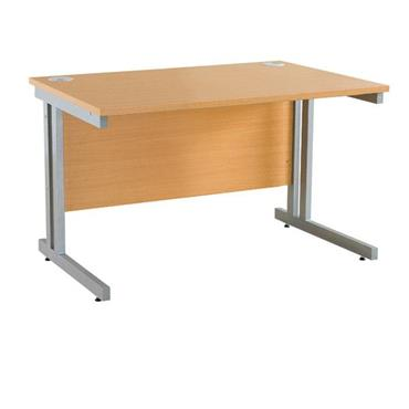 CITEC Beech Rectangular Desk