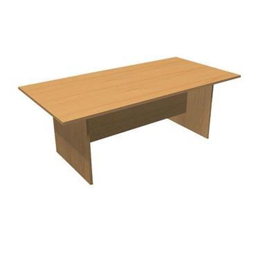 CITEC XMT21B Beech Rectangular Boardroom Table