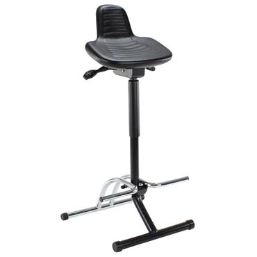 Score SIT-STAND Black Steady Stool