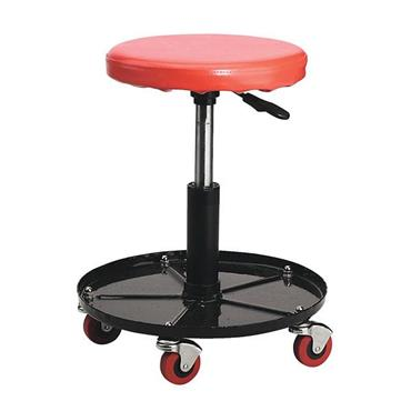 Sealey SCR10 Black/Red Gas Sprung Mechanic's Stool