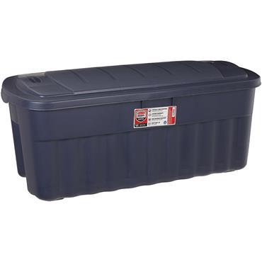 Rubbermaid Roughneck 50 Gal. Blue Jumbo Storage Tote