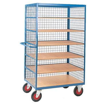 CITEC Shelf Truck with Mesh Superstructure