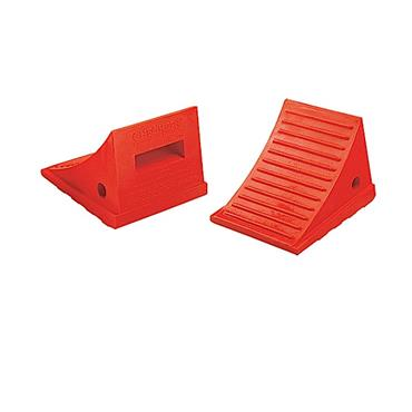 Checkers UC1500 Orange General-Purpose Utility Wheel Chock